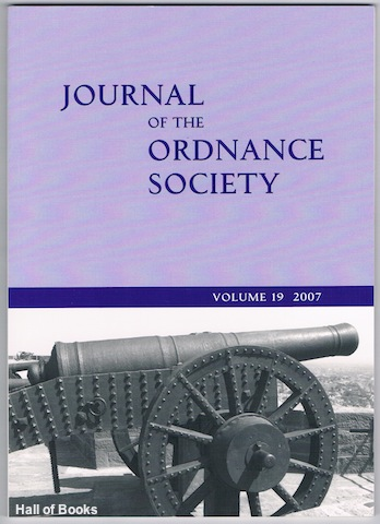 Image for Journal Of The Ordnance Society: Volume 19 2007