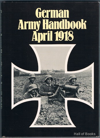 Image for German Army Handbook April 1918