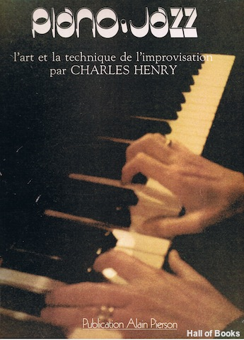 Image for Piano Jazz: l'art et la technique de l'improvisation