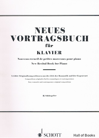Image for Neues Vortragsbuch Fur Klavier: New Recital Book For Piano