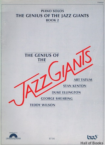 Image for The Genius Of The Jazz Giants: Book 2