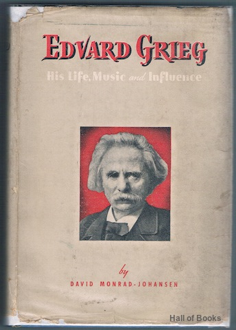 "Image for ""Edvard Grieg: His Life, Music and Influence"""