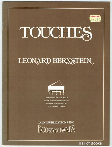 "Image for ""Touches: Chorale, Eight Variations And Coda. Piano Solo"""