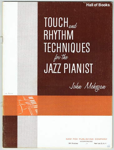 Image for Touch And Rhythm Techniques For The Jazz Pianist