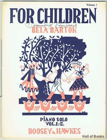 Image for For Children: Volume I Based on Hungarian Folk Tunes. Piano Solo