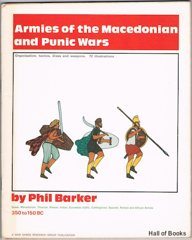 Image for Armies Of The Macedonian And Punic Wars 350 To 150BC