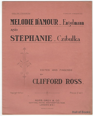Image for Melodie D'Amour and Stephanie (English Fingering)