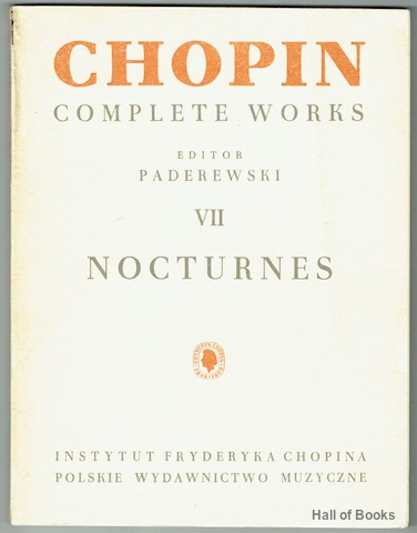 Image for Chopin Complete Works VII: Nocturnes For Piano
