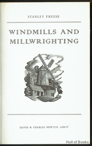 Image for Windmills And Millwrighting