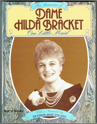 Image for One Little Maid: The Memories Of Dame Hilda Bracket