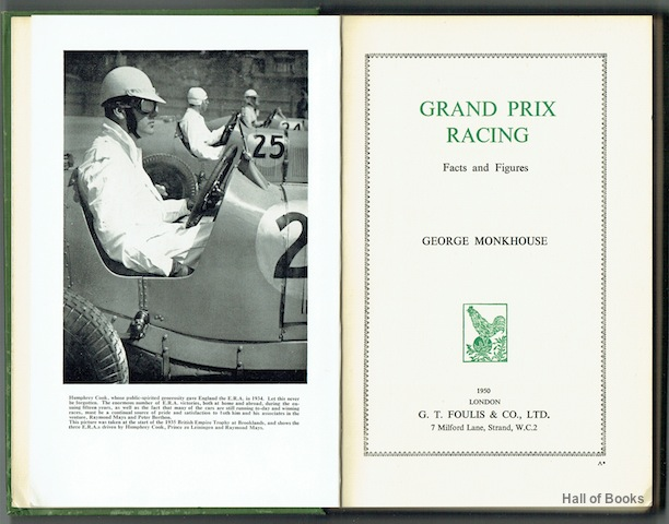Image for Grand Prix Racing: Facts and Figures