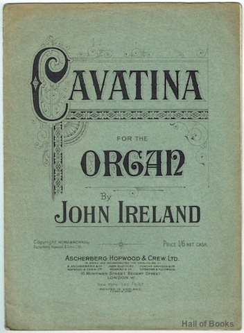 Image for Cavatina For The Organ