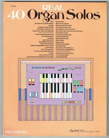 Image for Real 40 Organ Solos