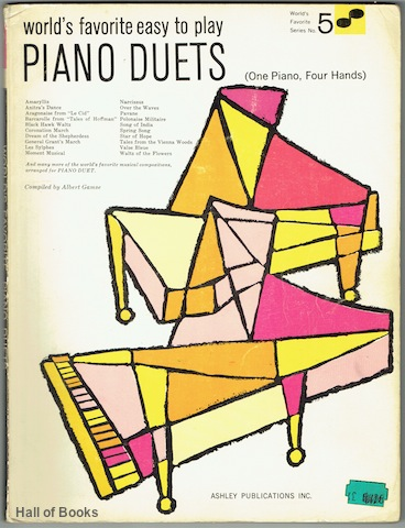 "Image for ""World's Favorite Easy To Play Piano Duets (One Piano, Four Hands)"""