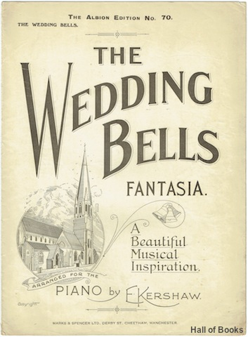 Image for The Wedding Bells Fantasia: A Beautiful Musical Inspiration for Piano Solo