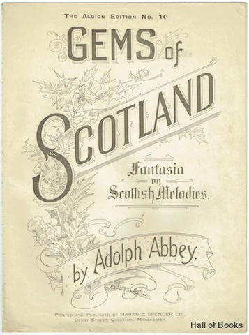 Image for Gems Of Scotland: Fantasia On Scottish Melodies.
