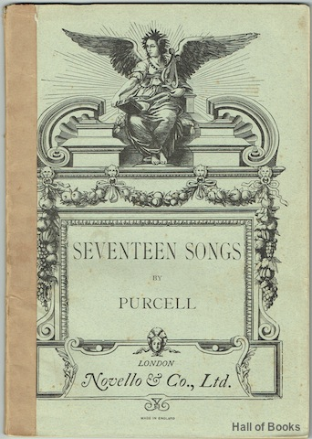 "Image for ""Seventeen Songs: Edited And Arranged, With Accompaniment For The Pianoforte, By Arthur Somervell"""