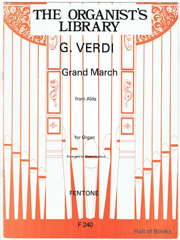 Image for Grand March From Aida For Organ (Organist's Library)