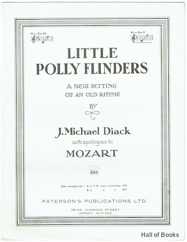 Image for Little Polly Flinders: A New Setting Of An Old Rhyme. Piano and Vocal Score No. 2 Key F