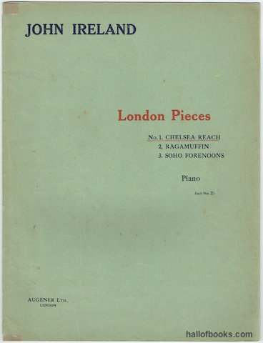 Image for London Pieces: No. 1 Chelsea Reach For Piano