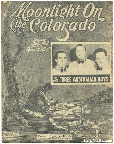 Image for Moonlight On The Colorado (featured by the Three Australian Boys)