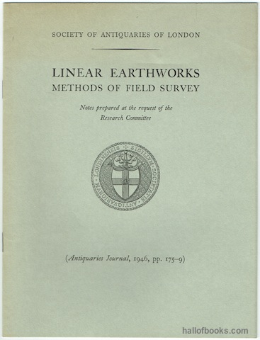 Image for Linear Earthworks: Methods Of Field Survey. Notes prepared at the request of the Research Committee