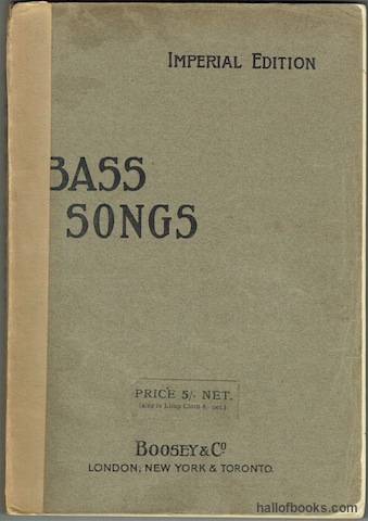 Image for Bass Songs. Imperial Edition