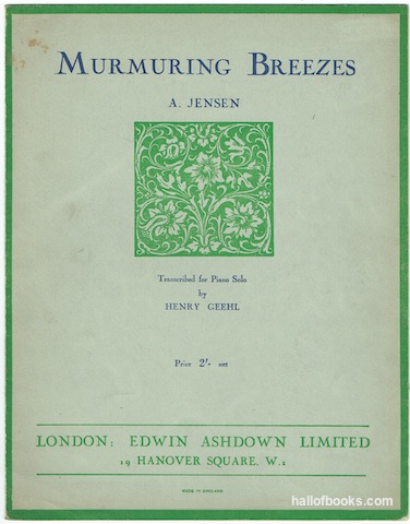 Image for Murmuring Breezes for Piano Solo