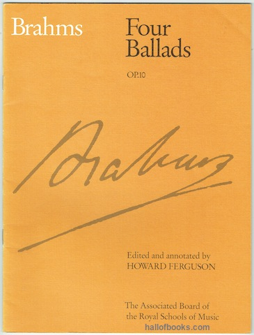 Image for Four Ballads Op. 10