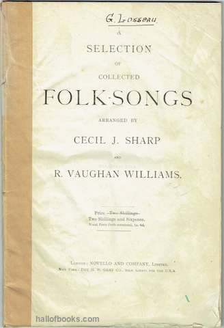 Image for A Selection Of Collected Folk-Songs