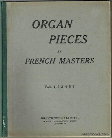 Image for Organ Pieces By French Masters Volume 1