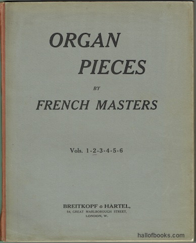 Image for Organ Pieces By French Masters Volume 2