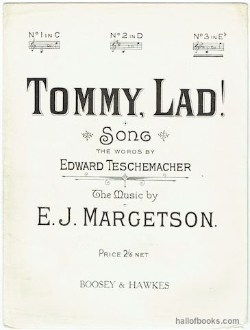 "Image for ""Tommy, Lad! Song, No.3 in E flat."""