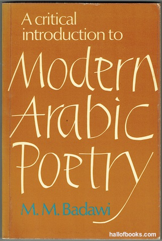 Image for A Critical Introduction To Modern Arabic Poetry