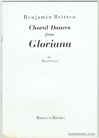 Image for Choral Dances From Gloriana For Mixed Voices