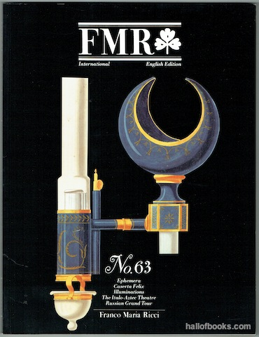 "Image for ""FMR International: English Edition No. 63, August 1993"""