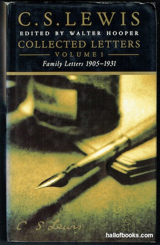 Image for C. S. Lewis Collected Letters Volume 1: Family Letters 1905-1931