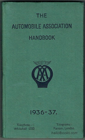 Image for The Automobile Association Handbook 1936-37