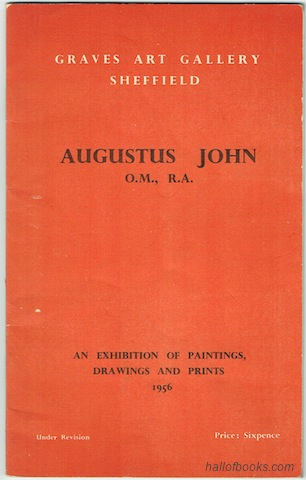 "Image for ""August John: An Exhibition Of Paintings, Drawing And Prints. Graves Art Gallery, Sheffield"""