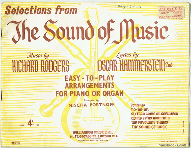 Image for Selections From The Sound Of Music: Easy-To-Play Arrangements For Piano Or Organ