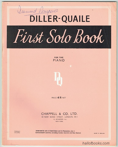 Image for Solo And Duet Books For The Piano: First Solo Book (New Revised Edition)