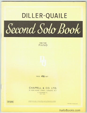 Image for Solo And Duet Books For The Piano: Second Solo Book For The Piano