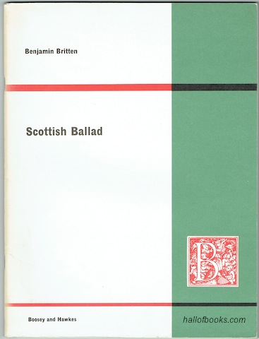 Image for Scottish Ballad For Two Pianos And Orchestra Op. 26: Arrangement For Two Pianos (Two Scores)