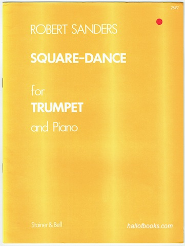 Image for Square-Dance For Trumpet and Piano