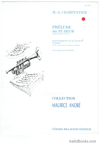 Image for Prelude du Te Deum Pour Trompette Et Piano (Collection Maurice Andre)