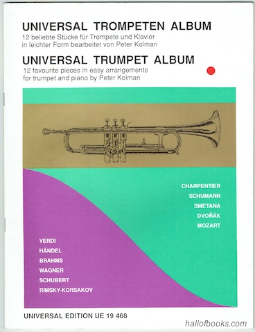 Image for Universal Trumpet Album: 12 Favourite Pieces In Easy Arrangements For Trumpet And Piano (Universal Edition UE 19 468)