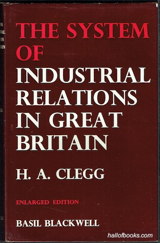 Image for The System Of Industrial Relations In Great Britain