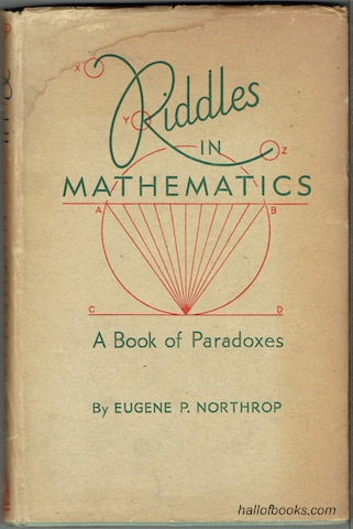 Image for Riddles In Mathematics: A Book Of Paradoxes