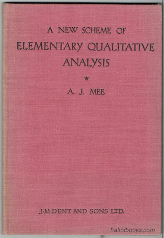 Image for A New Scheme Of Elementary Qualitative Analysis