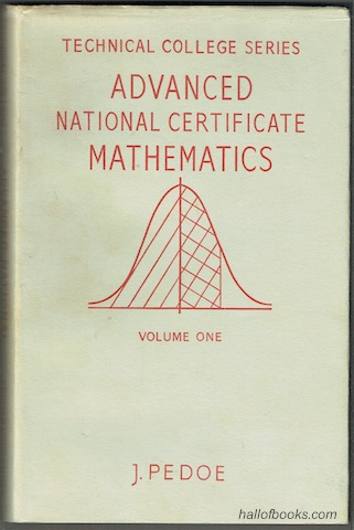 Image for Advanced National Certificate Mathematics: Volume One (The Technical College Series)